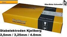 Stabelektrode Kjellberg Garant BR 2,5/3,25/4,0mm Schweißelektrode E42 2B 12 H10