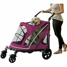 No-Zip Expedition, With Push Button Entry For Single Multiple Pets, Boysenberry
