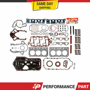Full Gasket Set Head Bolts for 95-03 Chevy Buick Oldsmobile Pontiac 3.8