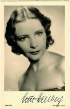 Ruth Hellberg Ross A 3059/1 signiert, Autogramm
