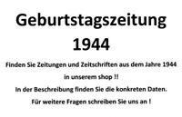 Geburtstagszeitung 1944 Zeitung vom / zum 76. Geburtstag Geschenk Film Theater