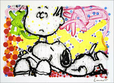 """Tom Everhart """"Super Sneaky"""" Hand Signed Numbered Lithograph Snoopy Art"""