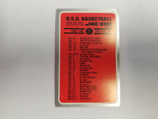 Ohio State University 1987/88 Men's Basketball College Pocket Schedule (RK)