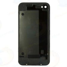 NEW iPhone iPhone 4 GSM AT&T Battery Door Rear Back Cover Glass Housing BLACK