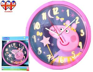 Peppa Pig Wall Clock, Children's Wall Clock, Officially Licensed,