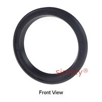 32x40x5mm Nitrile Rubber Rotary Shaft Oil Seal Springless Design VC Style