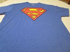 Superman DC Comics Unisex Men's Women's Casual T-shirt Tee shirt Size XXL
