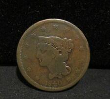 1840 Braided Hair Large Cent - Good Enn Coins