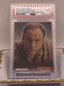2005 Inkworks #2 Anthony Soprano PSA 9 The Sopranos Season One