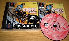 Street Skater { PS1 / Sony Playstation 1 PSone auch PS2 spb} in OVP + Anleitung