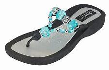 grandco triumph sandal turquoise