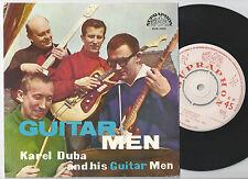 KAREL DUBA AND HIS GUITAR MEN Czech EP 45PS 1963 The Guitar Man/R-40-Beat-Rock
