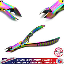 """Nail Grooming Tools Cuticle Trimmer Cutter 4"""" New Professional Titanium Coated"""