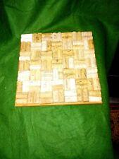 Natural wine corks pin board