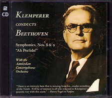 Otto Klemperer: Beethoven Symphony No. 8 & 9 Ah perfido! m&a 2cd GRE Brouwenstijn