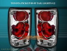 89-95 TOYOTA PICKUP TAIL LIGHTS CHROME G2 94 93 92 91