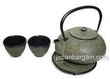 Japanese Cast Iron Teapot Tea Set Dragonfly TS12-08E S-2085