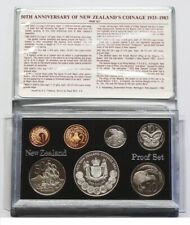 New Zealand - 1983 - Silver Proof Coin Set --  Anniversary of NZ Coinage