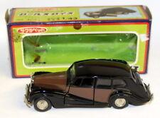 Sakura 1/43 Scale Vintage 4024 Rolls Royce Silver Wraith Brown Black model car