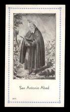 """santino-holy card""""S.ANTONIO AB."""