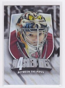 2011-12 Between The Pipes-Masked Men IV-Silver Parallel #'d /90-Smith #MM43