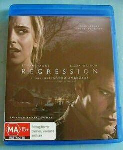 REGRESSION BLU-RAY Horror/Thriller Ethan Hawke