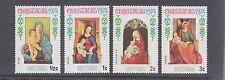 ANTIGUA-1974-CHRISTMAS STAMPS X 4-MUH-$2.50 freepost