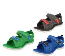 Chaussures moyens en synthétique avec boucle pour garçon de 2 à 16 ans