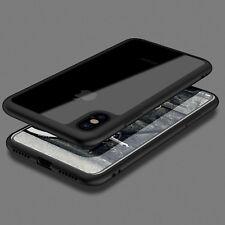 THINNEST Crystal Clear Bumper TPU Ultra Slim Case Cover iPhone X 8 7 8 Plus 6s 6