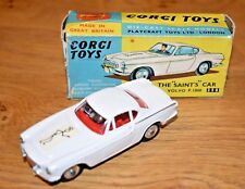"Vintage Original Boxed CORGI TOYS 258 ""The Saints"" VOLVO P1800  1965"