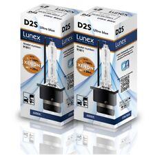 2 x LUNEX XENON D2S LAMPADINE compatibile con Osram, Philips 6000K HID