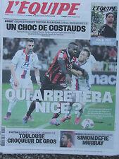 L'Equipe du 15/10/2016 - Toulon-Saracens - Nice - Toulouse - Simon -Vendée Globe