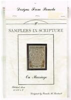 SAMPLERS IN SCRIPTURE  -   CROSS STITCH ONLY CHART
