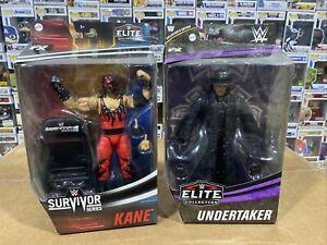 Wwe elite lot of 2 Kane & Undertaker