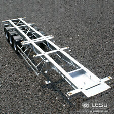 LESU 40 Feet Metal Container Trailer for 1/14 TAMIYA RC Model Car DIY Tractor