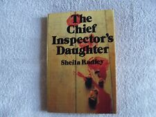 Sheila Radley THE CHIEF INSPECTOR'S DAUGHTER Hardback + Dustwrapper - 1981
