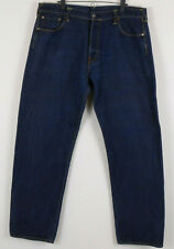 Indigo Genes Evisu Japon Mens Jeans 40 Measures 38 x 34 Cotton Denim Dark Blue