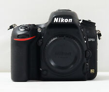 Used Nikon D750 Digital SLR Camera Full Frame 24.3 MP -Black (Body Only) No WiFi