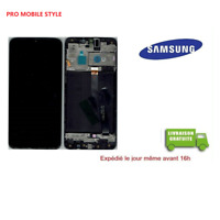 VITRE TACTILE chassis LCD ECRAN ORIGINAL SAMSUNG A10 SM A105F A105 OUTILS COLLE