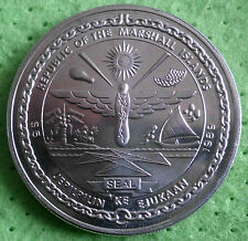 Marshall Islands 5 dollari 1989