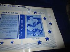 1960 Yogi Berra New York Yankees Baseball School Note Book Cover Notebook