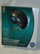 LOGITECH M570 WIRELESS TRACKBALL MOUSE FOR PC & MAC 910-001799 BRAND NEW SEALED