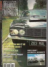 RETROVISEUR 170 ASTON MARTIN DBS & V8 ALFA GIULIETTA MG MAGNETTE SIATA DAINA