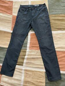 AG the everett 2 years bellevue ashen stretch 10oz denim jeans 32 mens NEW