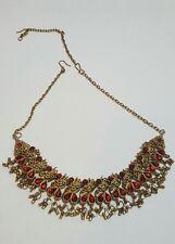 1pc Vintage Uniquessentials Handmade Designer Costume Jewelry Necklace 4 Child