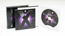 Mac OS X LEOPARD Version 10.5 Apple Install DVD & Booklet 2007 Family Pack Nice!