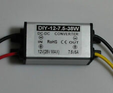 DC 12V 24V (9V-28V) TO 7.5V 5A 38W Waterproof DC Converter Regulator buck Module