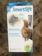 Catit SmartSift Kitty Litter Box Replacement Liners for Pull-Out Waste Bin 12pk