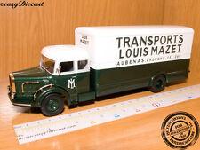 BERNARD TD-180 TD180 TRANSPORTS L.MAZET 1:43 TRUCK 1962