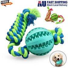 Interactive Dog Toys, Dog Chew Toys Ball Dental Clean for Small Medium Large